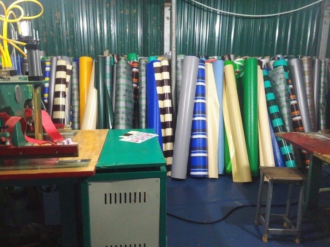 Xưởng Bạt Lớn Nhất Hà Nội Của Công Ty Chúng Tôi Với Hàng Trăm Loại Mẫu Bạt